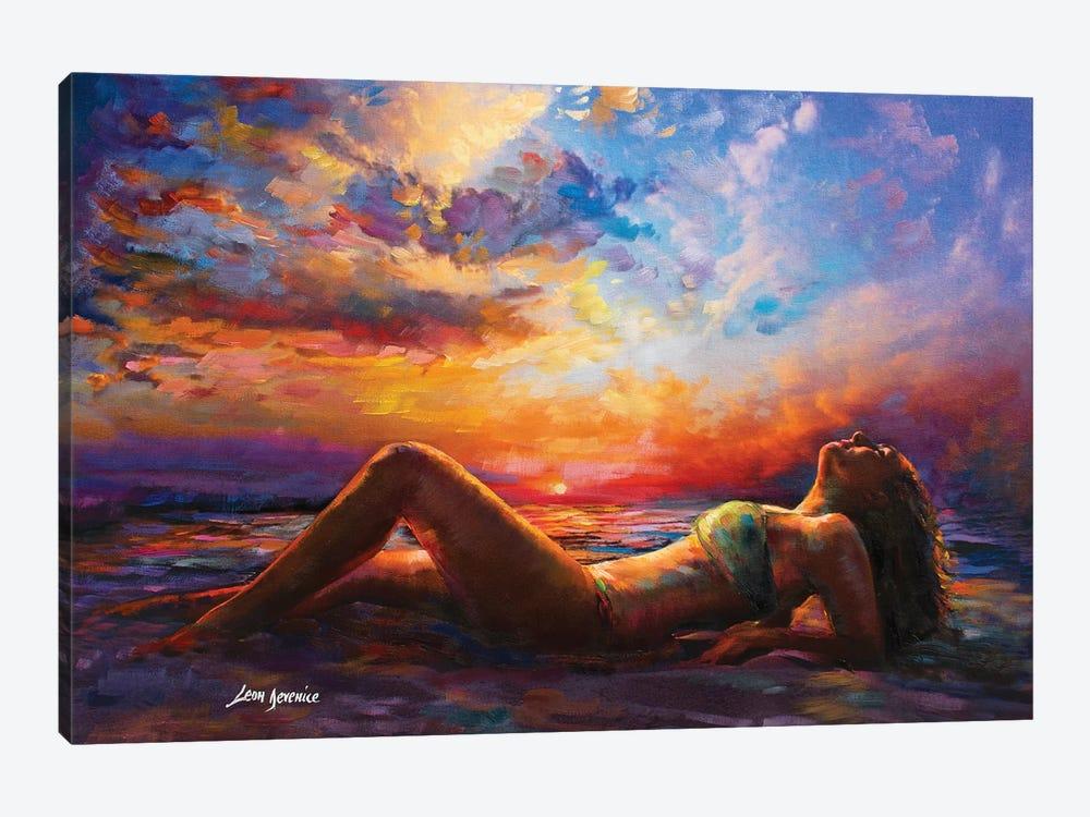 Summer Vibes by Leon Devenice 1-piece Canvas Art Print
