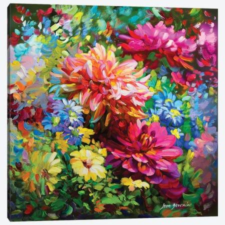 Sunday Morning Canvas Print #DVI80} by Leon Devenice Canvas Art Print