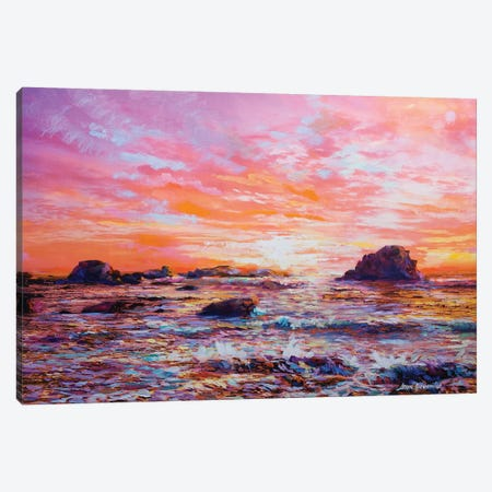 Sunset Memories Canvas Print #DVI83} by Leon Devenice Canvas Print