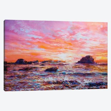 Sunset Memories Canvas Print #DVI83} by Leon Devenice Canvas Print