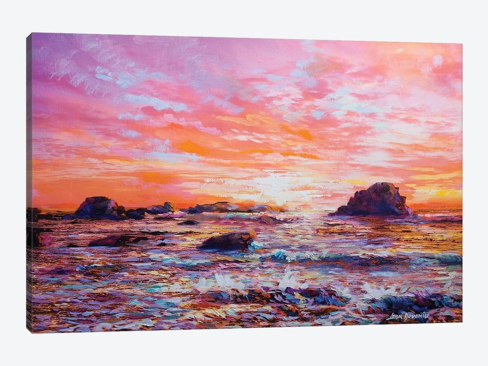Sunset Memories by Leon Devenice 1-piece Canvas Artwork