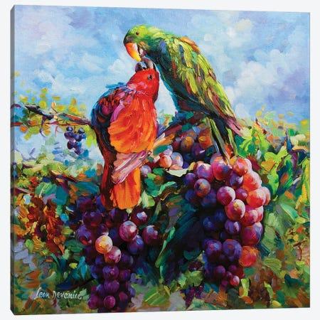 Sweet Sensation Canvas Print #DVI84} by Leon Devenice Canvas Wall Art