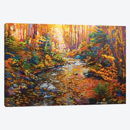 The Glory Of Autumn Canvas Print #DVI89} by Leon Devenice Canvas Art Print
