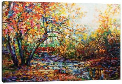 The Hidden Bridge Canvas Art Print