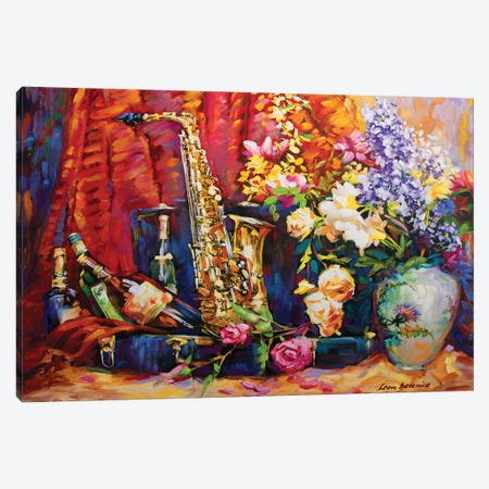 The Invitaton Canvas Print #DVI92} by Leon Devenice Canvas Art