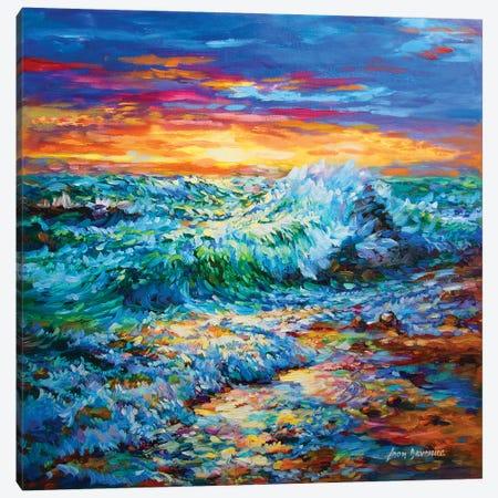 Tomorrow Is A New Day Canvas Print #DVI97} by Leon Devenice Canvas Print