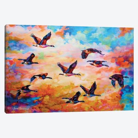 Towards Destination Canvas Print #DVI99} by Leon Devenice Canvas Wall Art