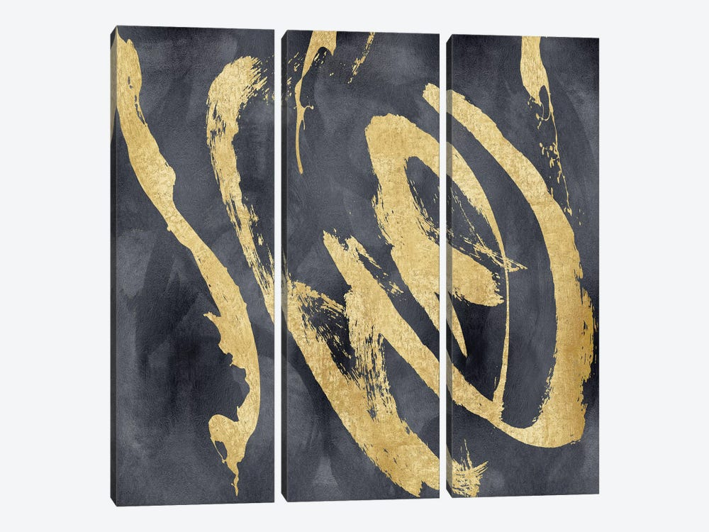 Magnetic I by Jordan Davila 3-piece Canvas Art Print
