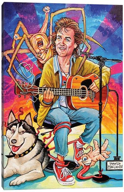 Kurt Russell Cobain Canvas Art Print