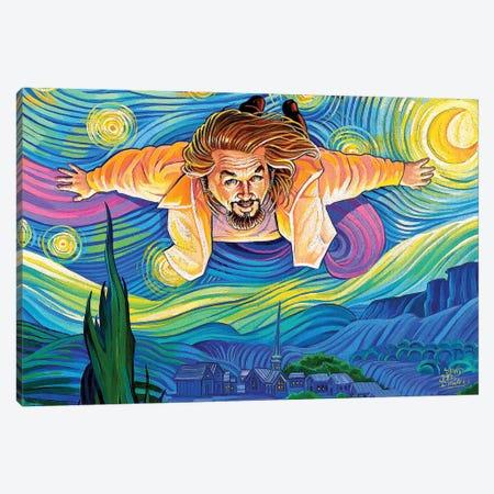 Lebowski Van Gogh Canvas Print #DVM11} by Dave MacDowell Canvas Wall Art