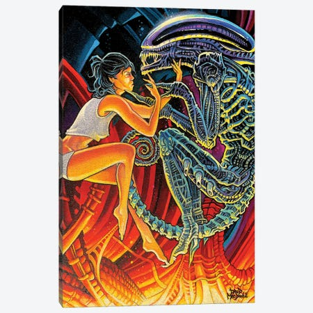 Mother Canvas Print #DVM15} by Dave MacDowell Art Print