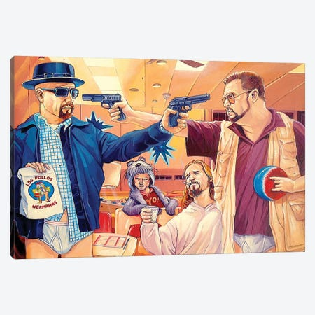 Obviously, You're Not A Science Teacher Canvas Print #DVM16} by Dave MacDowell Art Print