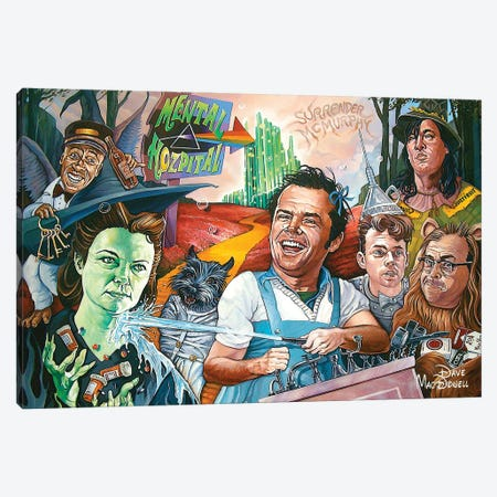 One Flew Over The Rainbow Canvas Print #DVM17} by Dave MacDowell Canvas Print