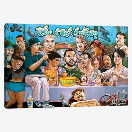 The Last Friday Canvas Print #DVM23} by Dave MacDowell Art Print
