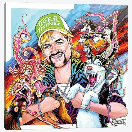 Tiger Thing Canvas Print #DVM27} by Dave MacDowell Canvas Artwork