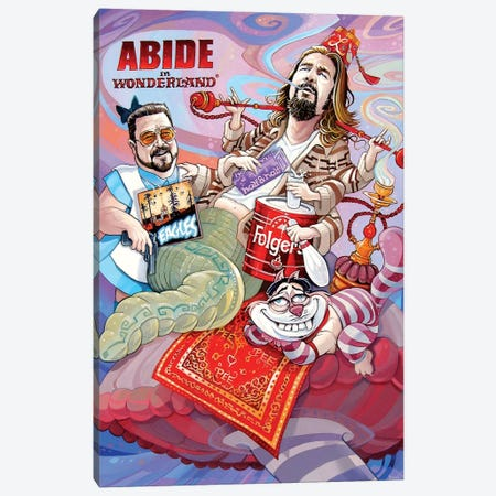 Abide In Wonderland Canvas Print #DVM31} by Dave MacDowell Canvas Wall Art