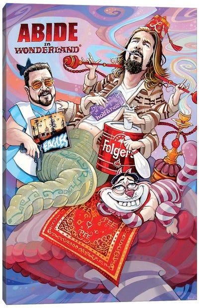 Abide In Wonderland Canvas Art Print