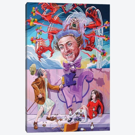 Appetite For Veruca Canvas Print #DVM32} by Dave MacDowell Canvas Art