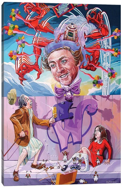 Appetite For Veruca Canvas Art Print