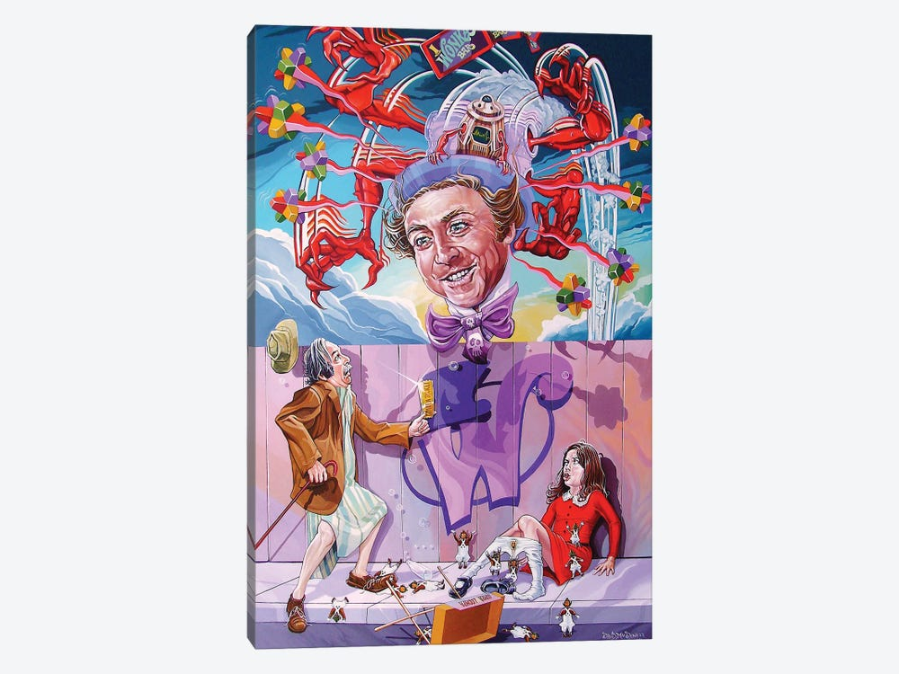 Appetite For Veruca by Dave MacDowell 1-piece Art Print