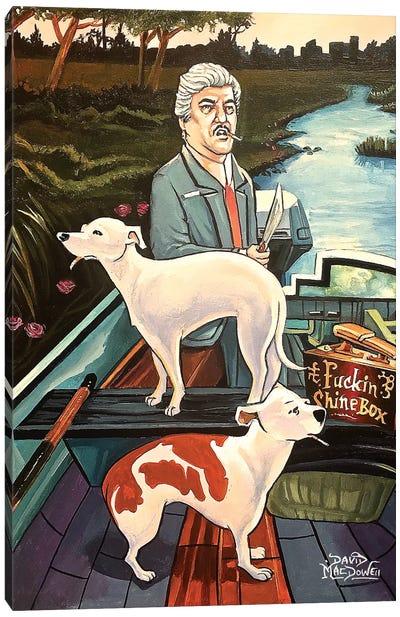 Billy Batts Canvas Art Print