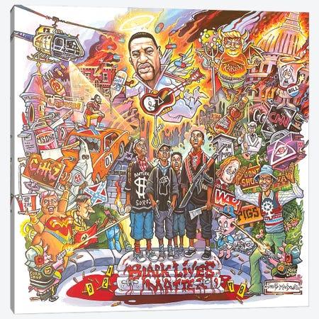 Black Lives Matter Canvas Print #DVM34} by Dave MacDowell Art Print