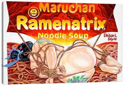 Ramenatrix Canvas Art Print