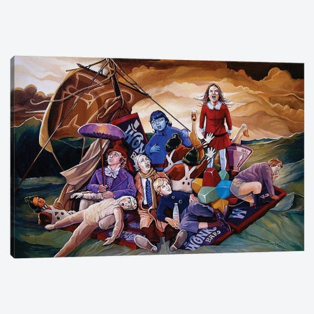The Wrath Of Veruca Canvas Print #DVM44} by Dave MacDowell Canvas Art