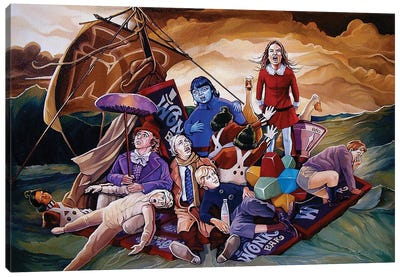 The Wrath Of Veruca Canvas Art Print