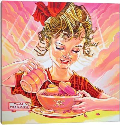Breakfast Of Champions Canvas Art Print