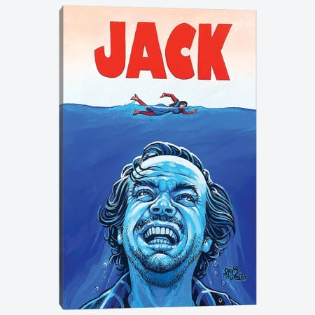 JACK! 3-Piece Canvas #DVM8} by Dave MacDowell Canvas Print