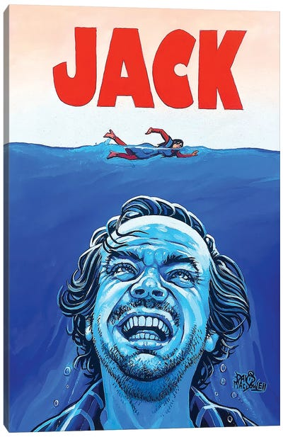 JACK! Canvas Art Print