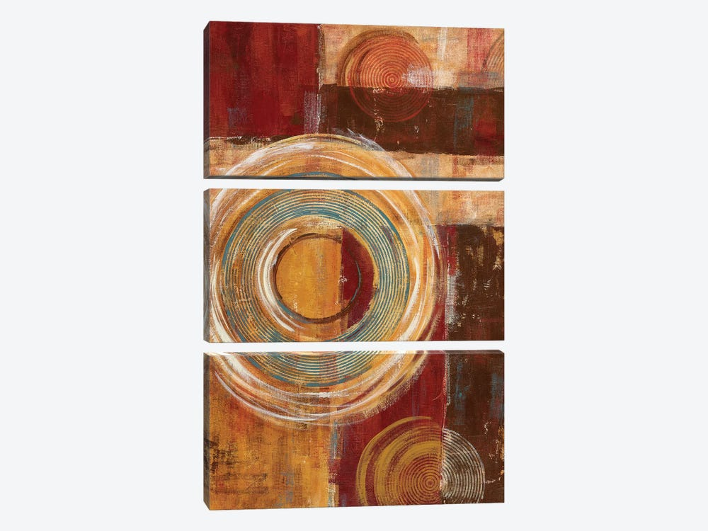 It's All Relative by Maria Donovan 3-piece Canvas Art Print