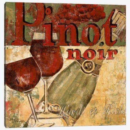 Pinot Noir Canvas Print #DVN13} by Maria Donovan Canvas Print
