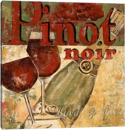 Pinot Noir Canvas Art Print