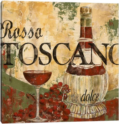 Rosso Tosano Canvas Art Print