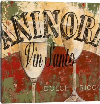 Vin Santo Canvas Art Print