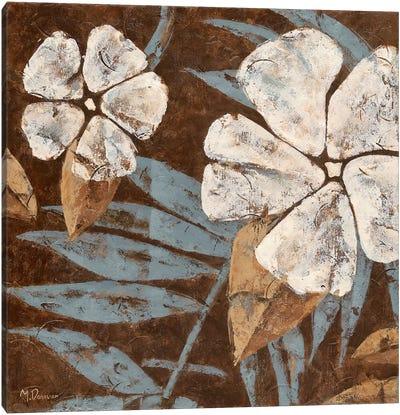 Flowers on Chocolate II Canvas Art Print