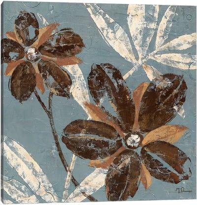Flowers on Chocolate III Canvas Art Print