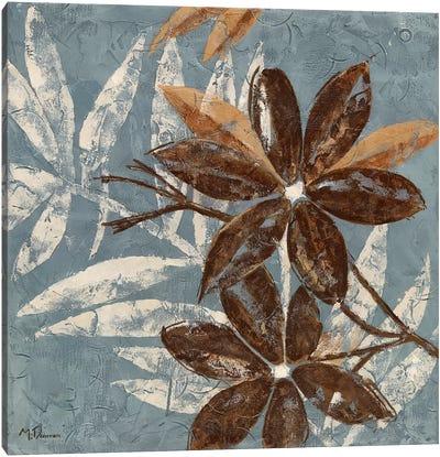 Flowers on Chocolate IV Canvas Art Print