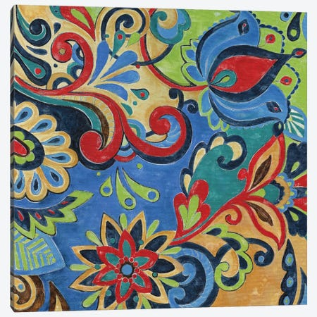 Celebration I 3-Piece Canvas #DVN3} by Maria Donovan Canvas Art