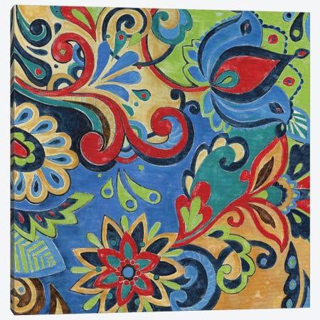 Celebration I Canvas Print #DVN3} by Maria Donovan Canvas Art
