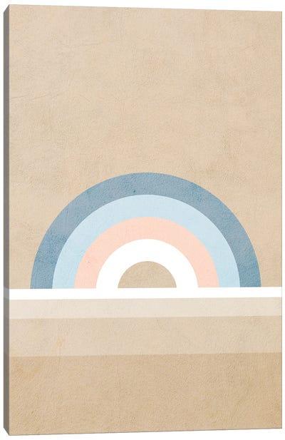 Rainbow Tan Canvas Art Print
