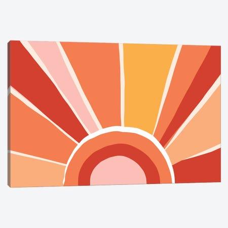 Retro Sunshine I Canvas Print #DVR115} by Dominique Vari Canvas Artwork
