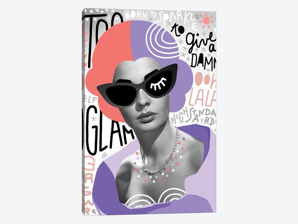Fashiongirl II Too Glam by Dominique Vari 1-piece Art Print
