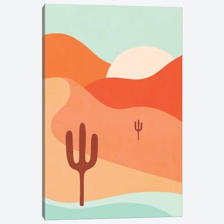 Desert Sunrise Canvas Print #DVR141} by Dominique Vari Canvas Artwork