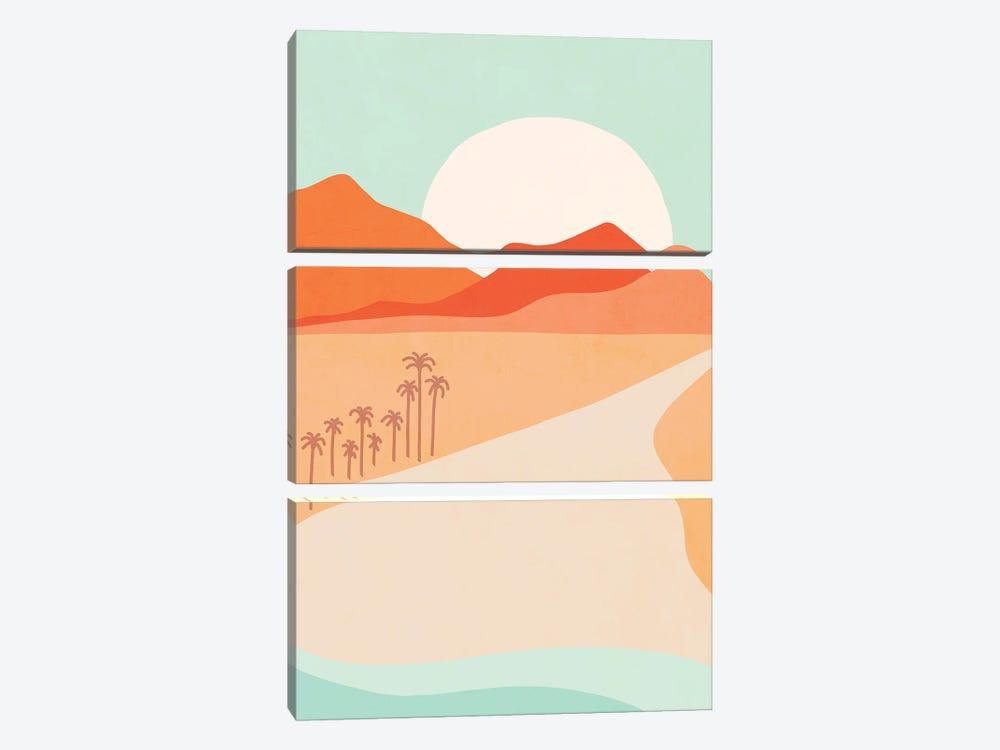 Horizon by Dominique Vari 3-piece Canvas Print