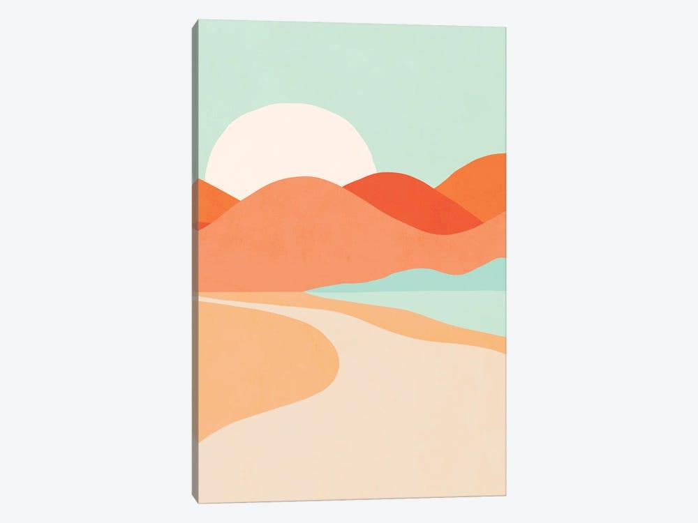 Oasis Sunset by Dominique Vari 1-piece Canvas Art
