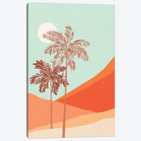 Palm Duo Canvas Print #DVR146} by Dominique Vari Art Print