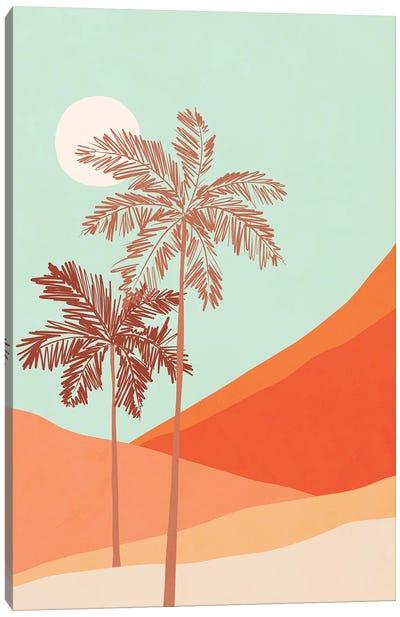 Palm Duo Canvas Art Print